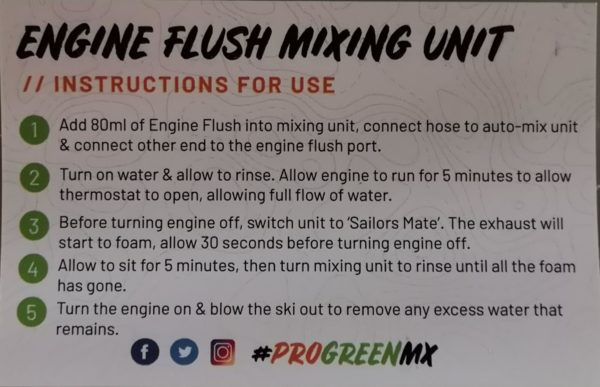 Pro-Green MX Engine Flush Mixer Unit
