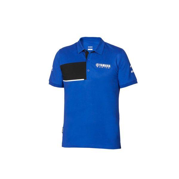 Yamaha Paddock Blue Pique Polo Mens 2020