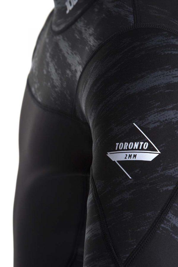 Jobe Toronto Jet Jacket 2mm Sidezip Mens Wetsuit Jacket Jetski Wakeboard Waterski Kayak Canoe SUP