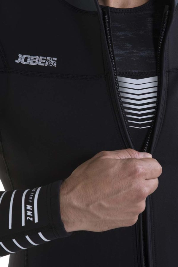 Jobe Toronto Jet Jacket Frontzip 2mm Mens Wetsuit Jacket Jetski Wakeboard Waterski Kayak Canoe SUP