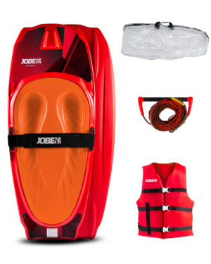 Jobe Streak Kneeboard Package 2020 Red Blue Beginner Jetski Wakeboard Waterski Kayak Canoe SUP