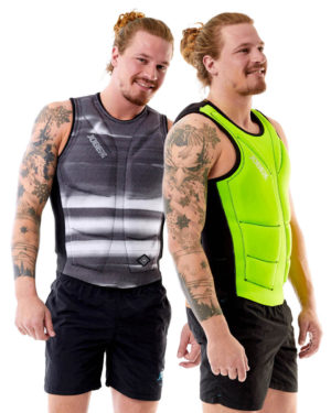 Jobe Reversible Comp Vest Men Lime Black